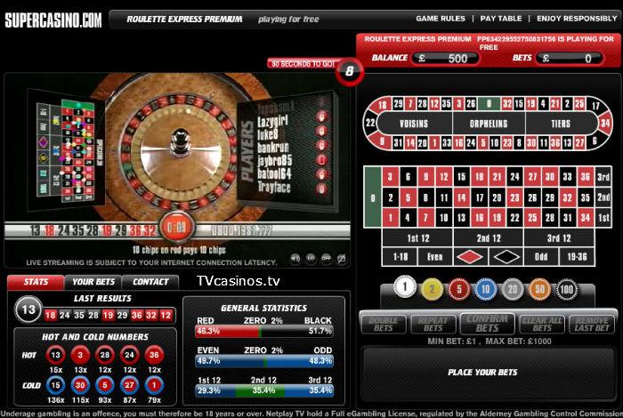 Super casino free roulette poker mtt training